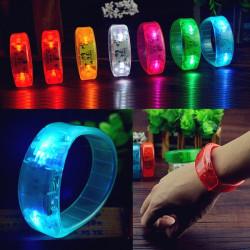 Röststyrning LED Lyser Armband Armband Bangle Party Concert