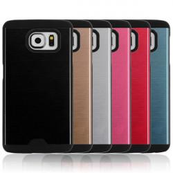 PC + Silica Gel Skyddande Bak Fodral för Samsung Galaxy S6
