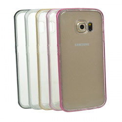 TPU+Metal Frame Case Cover For Samsung Galaxy S6 Edge