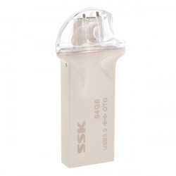 16/32/64GB SSK SFD247 USB Flash Drive U Disk for OTG Cellphone