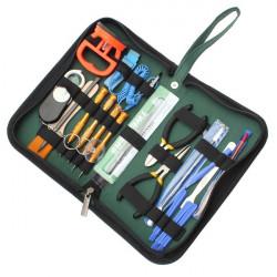 19 I 1 Åbning Adskil Reparation Værktøjer til Mobiltelefon