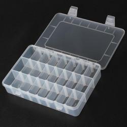 24 Fächer Lagerung Kunststoff Reparatur Werkzeug Kasten für Handy