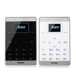 AIEK M9 Ultra-thin Pocket Mini Card Mobile Phone Feature Phones