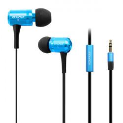 Awei ES 100M 3.5mm verdrahteten Super Bass In Ohr Kopfhörer für intelligentes Telefon