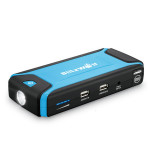 BlitzWolf™ K3 400A Peak Current Jump Starter Multi-Function Car 12000mAh Dual USB Power Bank Safety Protection LED Car Electronics