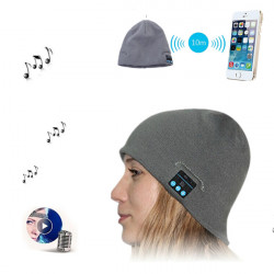 Bluetooth Talking Keep Warm Music Speaker Knitted Hat for Mobile Phone
