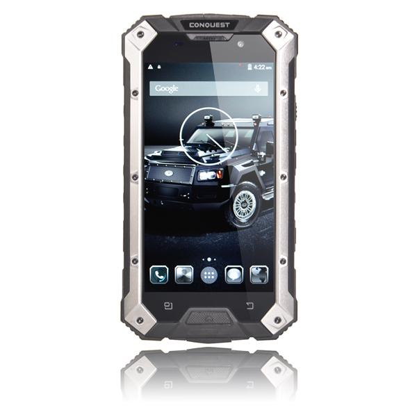 """Conquest S6 5"""" IP68 MTK8752 Quad-core Vandtæt Smartphone Rugged Smartphone"""