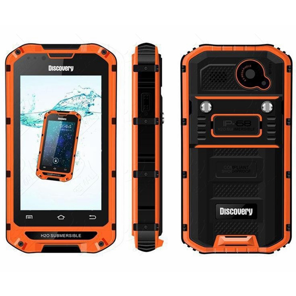 Discovery V6 4-inch Waterproof Outdoor Sports Amateur Smartphone Feature Phones