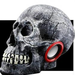 Halloween Skull Music Player Kan Ladda Digital Skärm Spesker