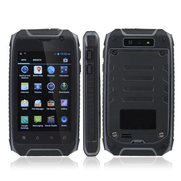 Hummer H1 + 3,54 Zoll wasserdichten Outdoor Sports Amateur Smartphone Arbeitshandy