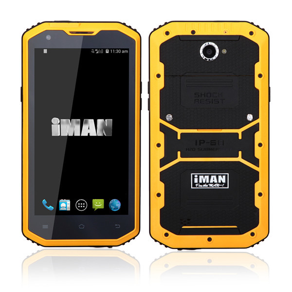 IMAN I8800 IP68 Vandtæt FDD-LTE 4G Qualcomm MSM8916 Smartphone Rugged Smartphone