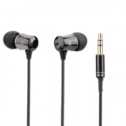 JBM-V8 MP3 Metal In-ear Stereo Earphone Headphone Headset