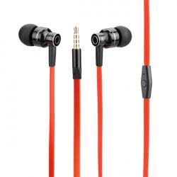 JBMMJ-8600 Deep Bass Metal In-ear Mikrofon Øretelefon til Mobiltelefon