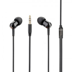 JBMMJ-A8 MP3 Metal In-ear Deep Bass Sound Hovedtelefoner Headset Øretelefon