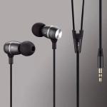 JBMMJ-MJ100 MP3 Metall In-ear Deep Bass Headphone Headset Earphone Högtalare & Hörlurar