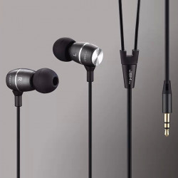 JBMMJ-MJ100 MP3 Metal In-ear Deep Bass Headphone Headset Earphone