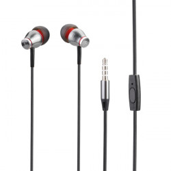 JBMMJ-MJ900 Djup Bas Metall In-ear Mikrofon Hörlurar för Mobil