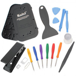 KAISI 15 in 1 Repair Screwdriver Disassembly Tools For Mobile Phones