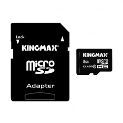 Kingmax 8GB Class 6 Micro SD TF Micro SD-kort för Mobiltelefon