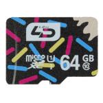 LD 64GB Class 10 Micro SD TF Micro SD-kort för Mobiltelefon Minneskort
