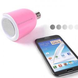 LED-lampor Form Trådlös Bluetooth-högtalare med Fjärrkontroll