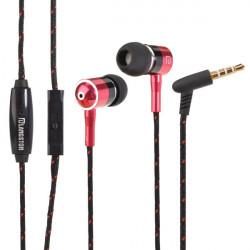 Longston I-1 3.5mm Metall In-Ear Hörlurar Stereo med Mikrofon