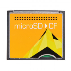 MicroSD to CF Micro Compact Flash CF Memory Card Adapter