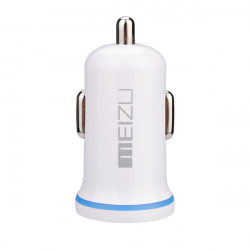 Original Meizu Mini USB Biloplader Adapter til Mobiltelefon