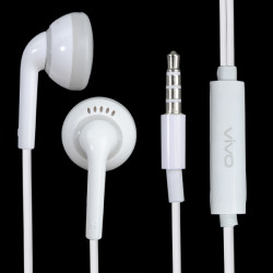 Original VIVO X510 In-ear-hörlurar Headset till Mobiltelefon