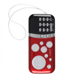 PN-99 Mini Card Radio Thin Card Small Speakers With Song Cards