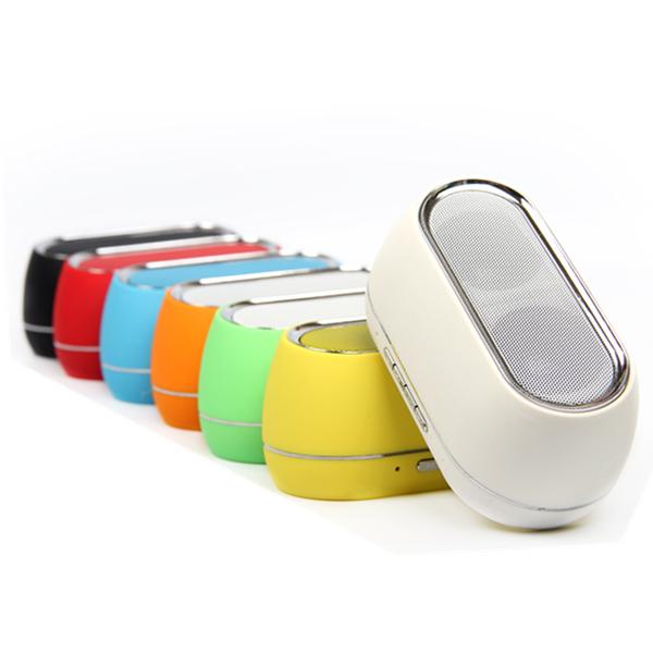 Bärbara Mini Trådlös Bluetooth FM TF Högtalare till Mobiltelefon Högtalare & Hörlurar