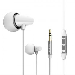 Remax RM-702 Functional Ceramic In-ear Headphone Earphone With Mic