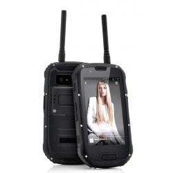 "S09 PTT Intercom Version 4.3"" Andriod4.2 MTK6589 IP68 3G Smartphone"