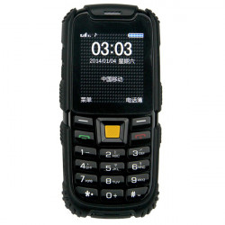 "S6 2.4"" Dual SIM-kort Outdoor Rugged Stødsikker IP68 Vandtæt Phone"
