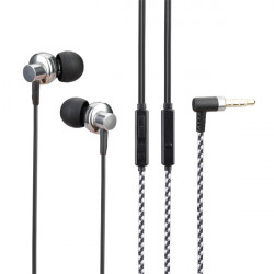 SUR-S808 Deep Bass Sound In-ear Metal Earphone With Mic Control
