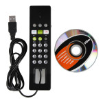 VoIP USB Internet Phone Handset For Skype Calls Feature Phones