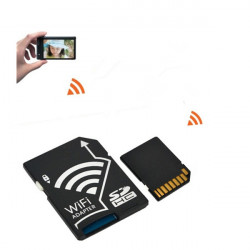 WiFi Trådløs Micro SD Card Adapter for Smartphone Tablet Laptop