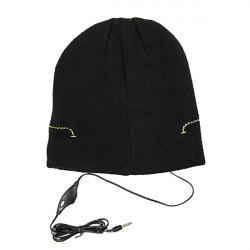Winter Hut Kappe mit 3,5 mm Kopfhörer Lautsprecher für Mobiltelefon