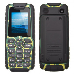 XP3300 1.77-inch Waterproof Outdoor Mobile Phone With Charger