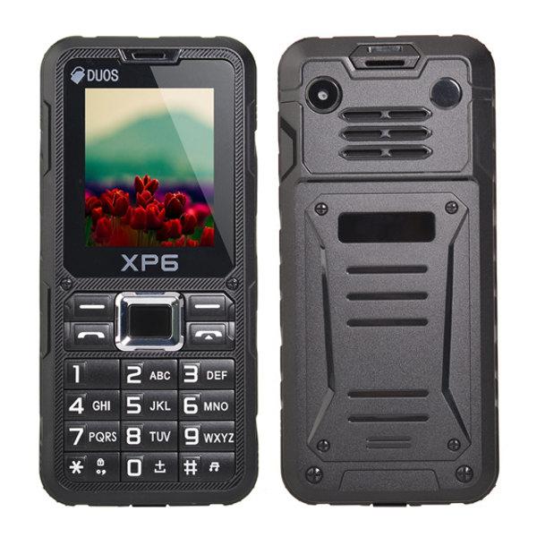 XP6 2-inch MTK6261m Waterproof Outdoor Mobile Phone Feature Phones