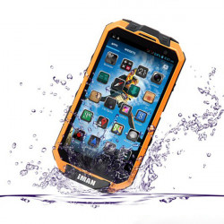 iMAN i3 T3S IP68 4.3-inch MTK6589T Quad-core Waterproof Outdoor Smartphone