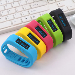 Bluetooth4.0 Smart Health Bracelet Sleep Sport Pedometer Wristband