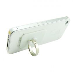 Venicen Universal Silber Crystal Ringhalter Klebstoff Standplatz für Handy Tablette