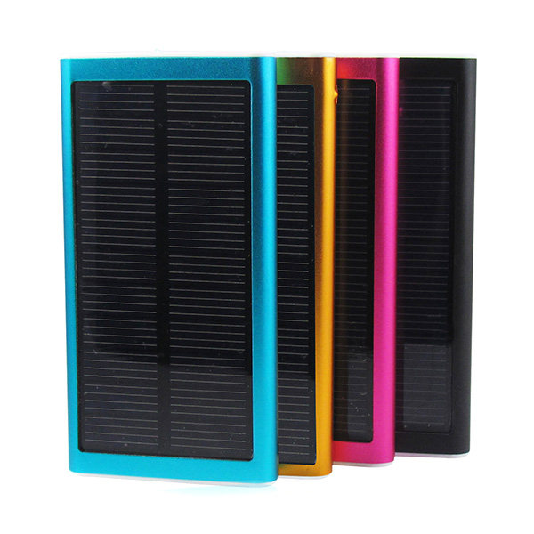086C  2600mAh USB Solar Power Bank Portable Charger For Mobile Phone Power Banks