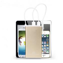10000mAh Polymer Opladning Treasure PowerBank til Mobiltelefon