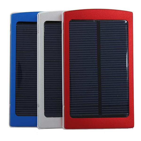 10000mAh Solar Portable PowerBank for Elektroniske Produkter PowerBank / Nødbatterier