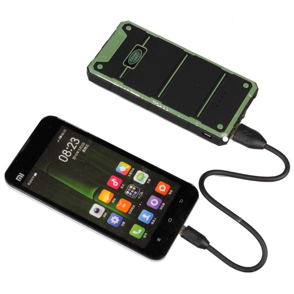 10000mAh Waterproof Dual USB Portable External Battery Power Bank Power Banks