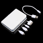 10400mAh Dual USB External Battery Power Bank With Four Adapters Power Banks