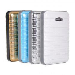 10400mAh Suitcase Design External Battery Power Bank For Mobile Phone
