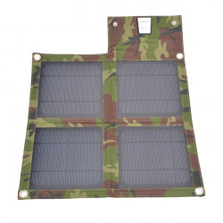 10W USB Folding Solpanel Utomhus Portable Laddare till Mobiltelefon